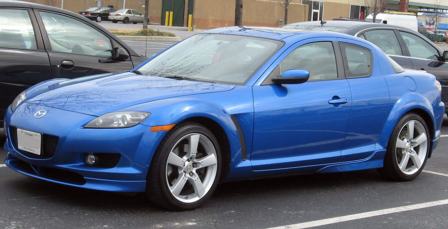 mazda rx8, bestcar corfu car rental