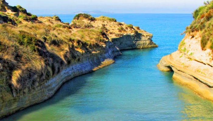 canal d'amour, bestcar corfu car rental