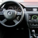 skoda octavia interior 1, bestcar corfu car rental