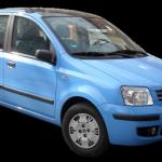 fiat panda exterior, bestcar corfu car rental