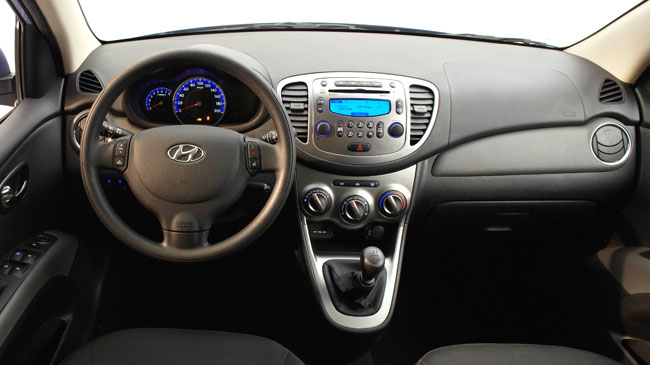 hyundai i10 interior 2, bestcar corfu car rental