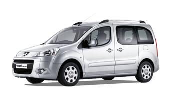 Best Car Rental Corfu Peugeot Partner